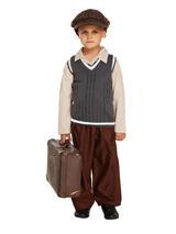 Child Evacuee Boy Costume