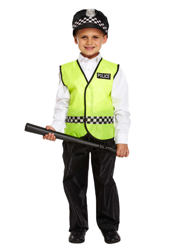 Child Policeman Costume Thumbnail 1
