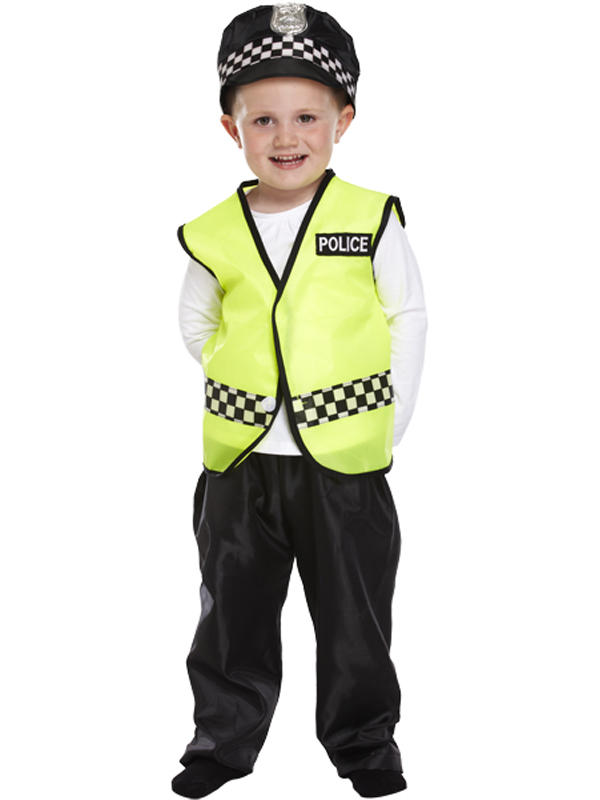 Child Policeman Costume Thumbnail 2