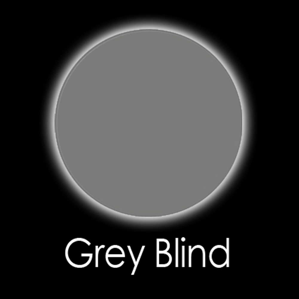 Grey Blind Fashion Lenses