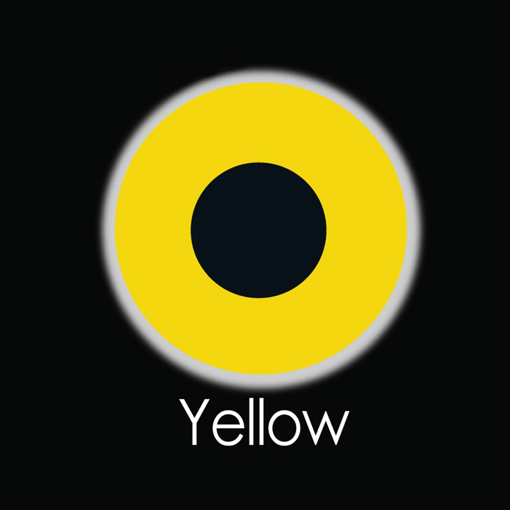 Yellow Fashion Lenses