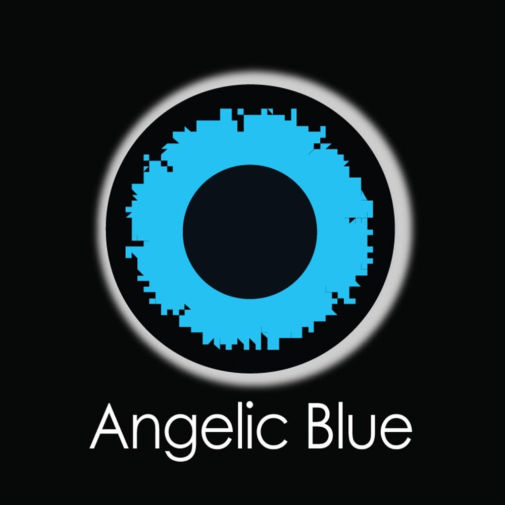 Angelic Blue Fashion Lenses