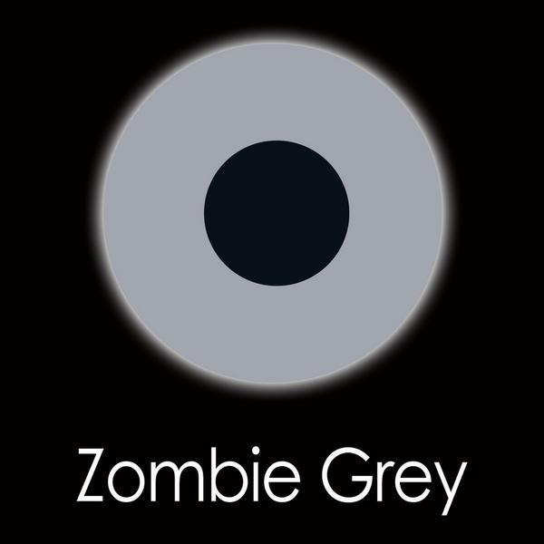 Zombie Grey Fashion Lenses