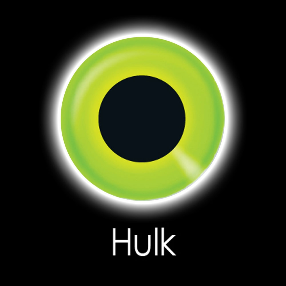 Hulk Fashion Lenses