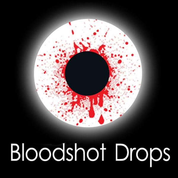 Bloodshot Drops Fashion Lenses