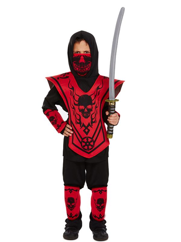 Child Red Ninja Costume