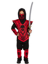 Child Red Ninja Costume
