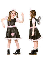 Child Girls Wind Up Doll Costume