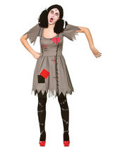 Freaky Voodoo Doll Costume Dress