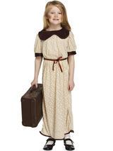 Child Evacuee Girl Costume