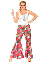 Flower Power Hippie Pants Costume