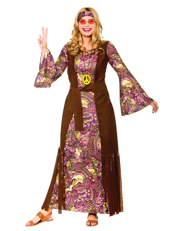 Summer Of Love Hippy Costume