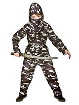 Child Delta Force Ninja Costume