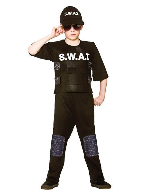 Child Swat Team Commander Costume
