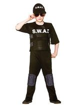 Child Swat Team Commander Costume
