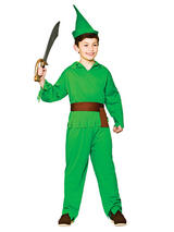 Child Robin Hood Lost Boy Costume