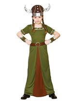 Child Viking Princess Costume