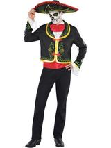 Day Of The Dead Senor Costume Set