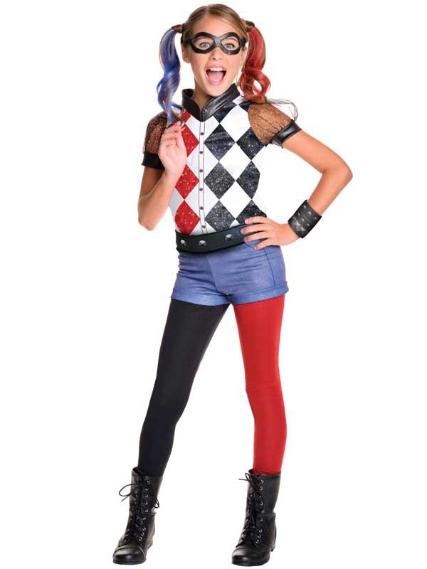 Deluxe-Harley-Quinn-Ninos-Ninas-Superheroe-Disfraz-Oficial-DC-5-10yrs
