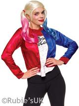 Harley Quinn Shirt And Top Costume Kit