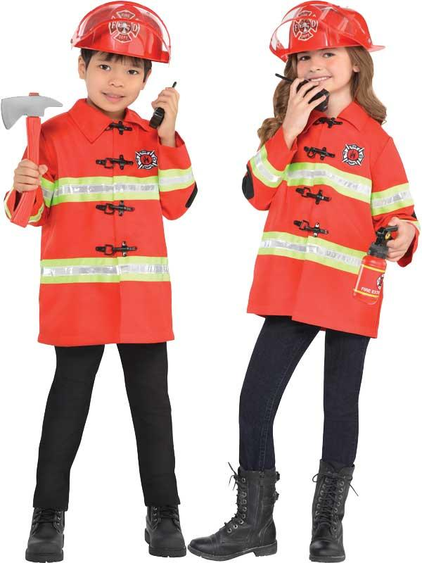 Child New Amazing Me Firefighter Costume Kit Thumbnail 1