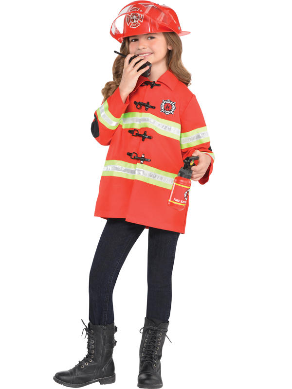 Child New Amazing Me Firefighter Costume Kit Thumbnail 3