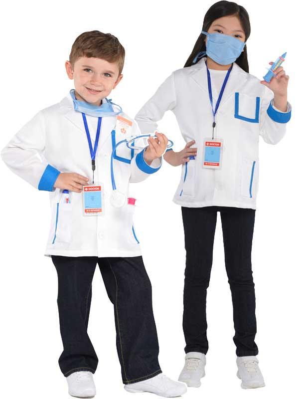 Child New Amazing Me Doctors Costume Kit Thumbnail 1