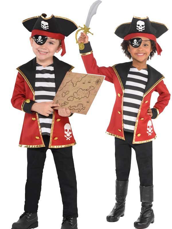 Three Child New Amazing Me Pirate Costume Kit Thumbnail 1