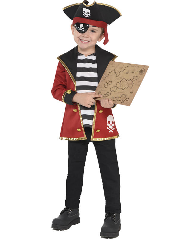 Three Child New Amazing Me Pirate Costume Kit Thumbnail 2