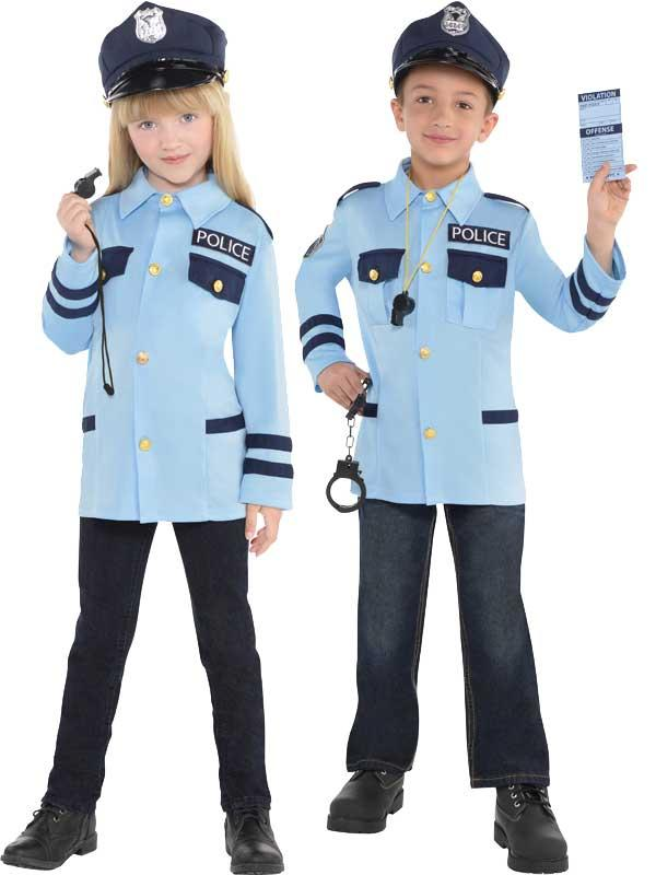 Child New Amazing Me Police Costume Kit Thumbnail 1