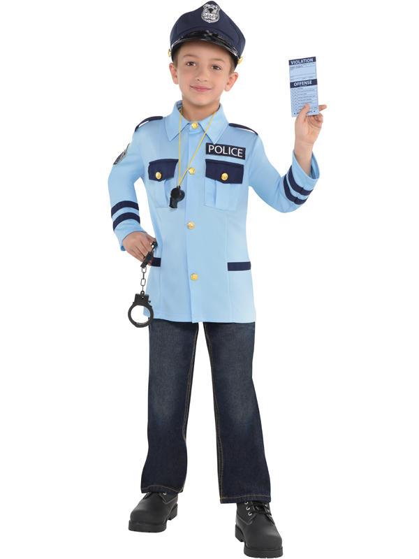 Child New Amazing Me Police Costume Kit Thumbnail 2
