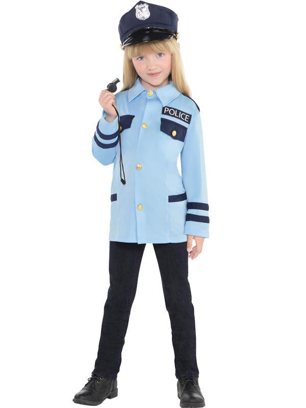 Child New Amazing Me Police Costume Kit Thumbnail 3