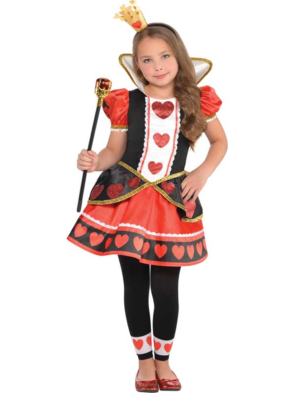 Child New Queen Of Hearts Costume
