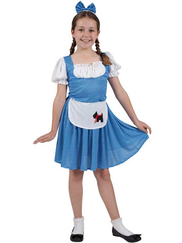 Child Storybook Country Girl Costume