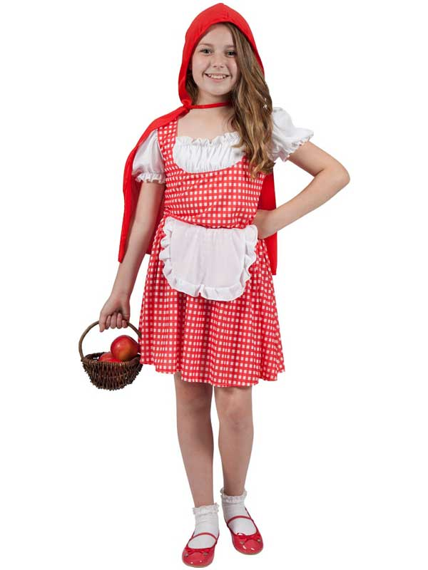 Child Storybook Red Riding Hood Costume