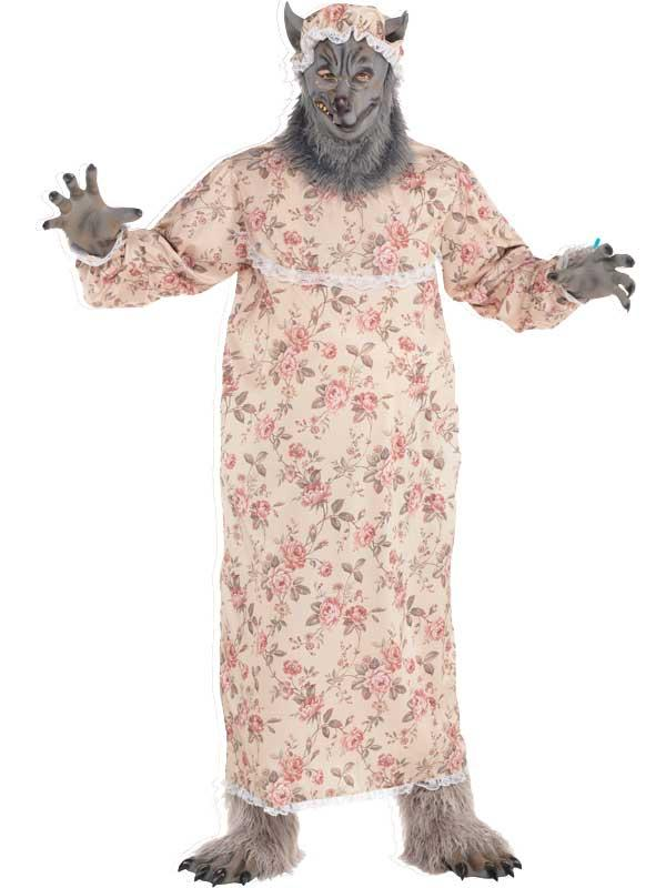 New Grandma Wolf Costume Thumbnail 3