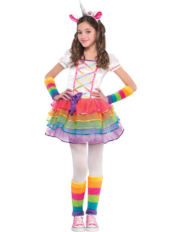 Child New Rainbow Unicorn Costume