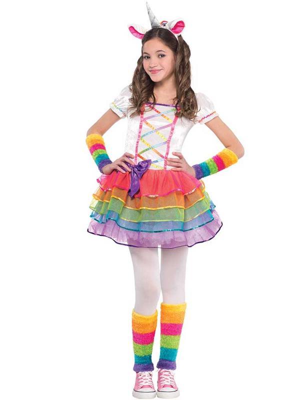 Child New Rainbow Unicorn Costume