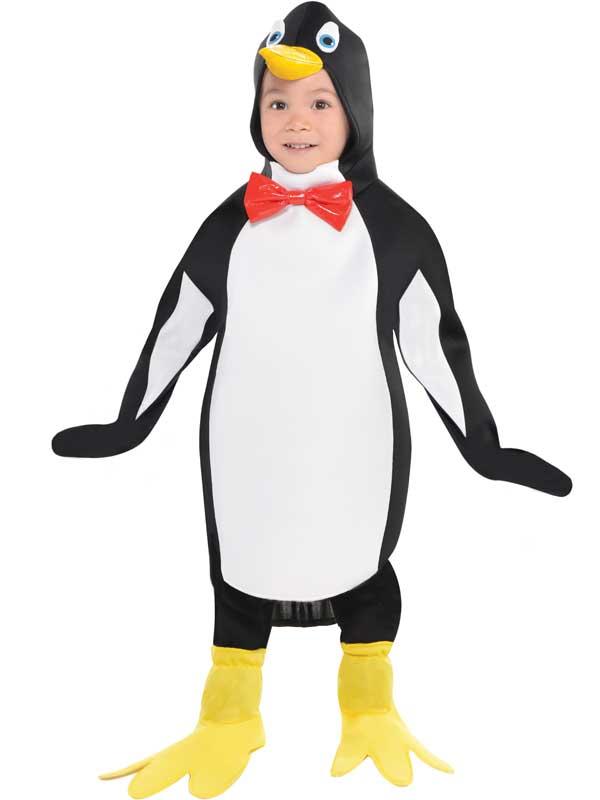 how to make penguin fancy dress costume
