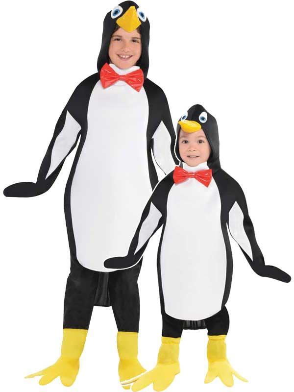 Child New Penguin Costume Thumbnail 1