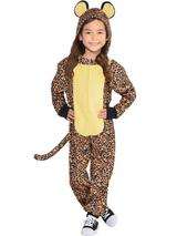 Child New Zipster Leopard Costume