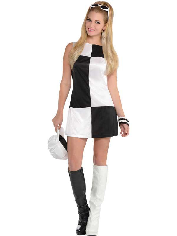 New Mod Girl Costume Thumbnail 1