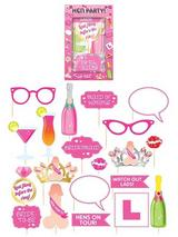 Hen Party Photo Props With Sticks Asstd