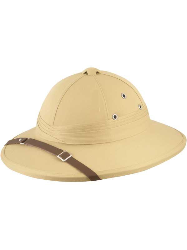 Adult Beige Safari Hat
