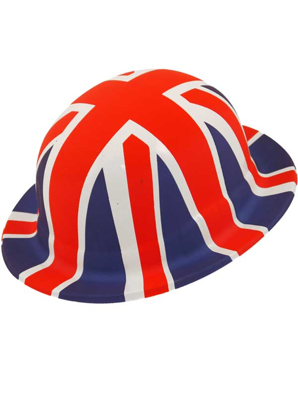 Adult Union Jack Bowler Hat