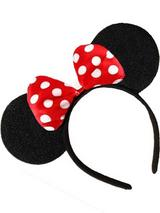 Adult Headband Mouse Ears & Bow