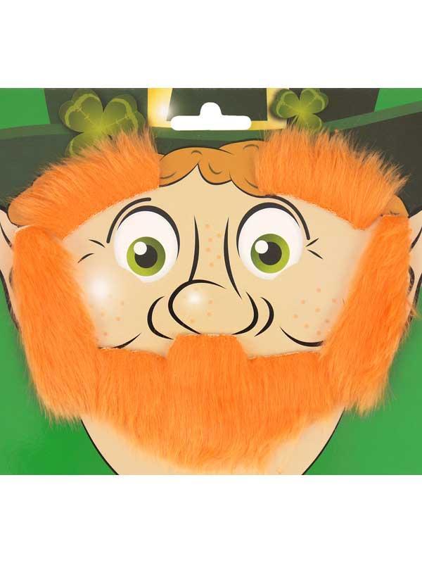 Adult Beard Eyebrows & Sideburns Leprechaun Set