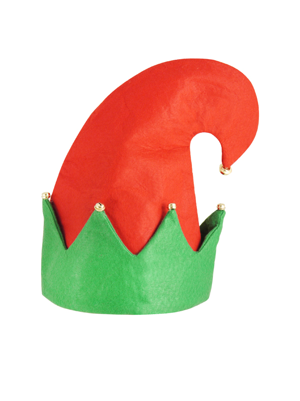 Adult Hat Elf With Bells