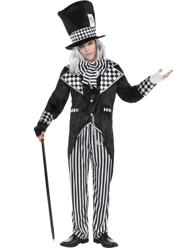New Totally Mad Hatter Costume Thumbnail 2