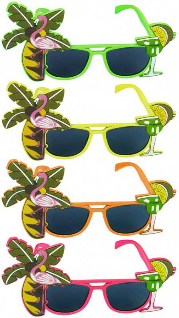 Dark Lens Flamingo Assorted Glasses Thumbnail 1